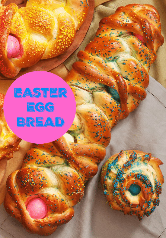 Easter Egg Bread  Colored Easter Egg Bread Recipe An Italian Holiday