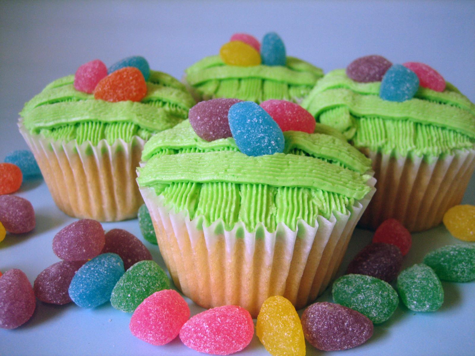 Easter Egg Cupcakes  Sweet Elites Vegan Cupcakes Easter Egg Basket Cupcakes