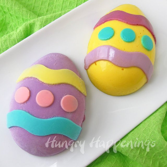 Easter Egg Desserts  How to Paint Cheesecake Easter Eggs Hungry Happenings