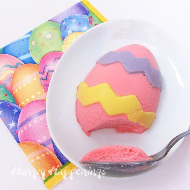 Easter Egg Desserts  How to Paint Cheesecake Easter Eggs plus an Easter