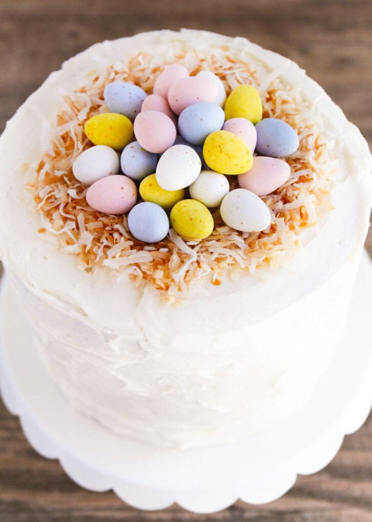 Easter Egg Desserts  Easter Egg Layered Cake I Heart Nap Time