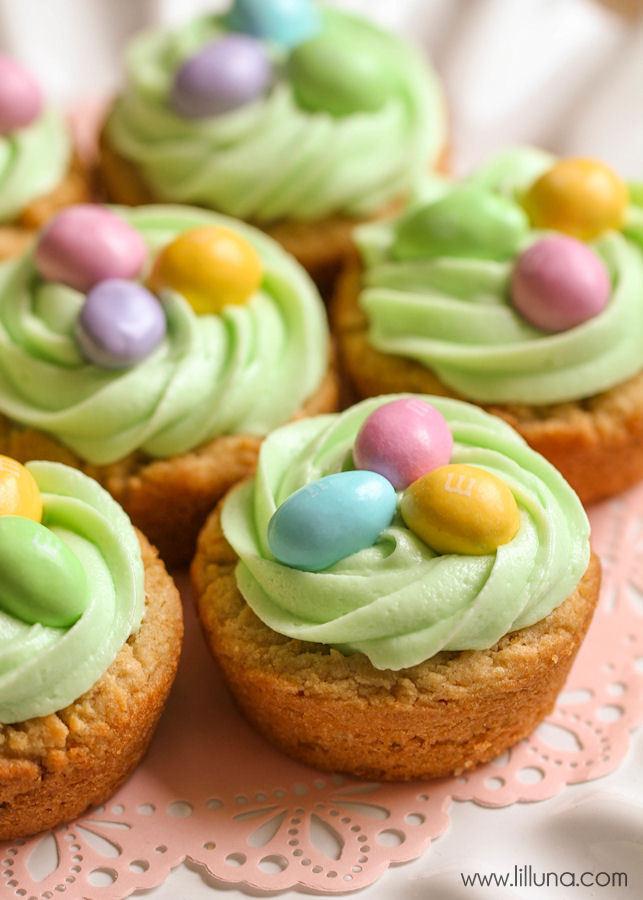 Easter Egg Desserts  Rice Krispies Easter Cups Lil Luna