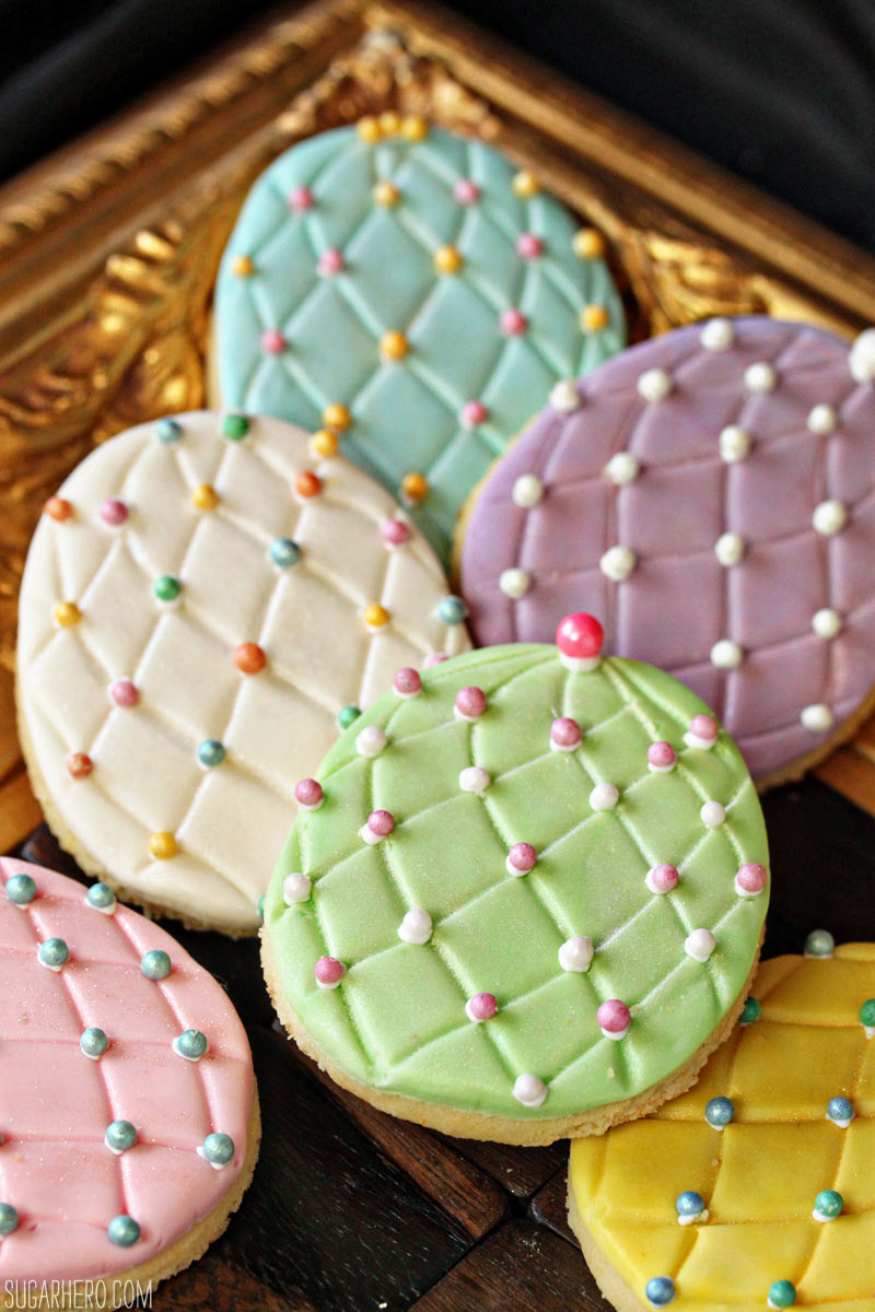 Easter Egg Sugar Cookies  Faberge Egg Sugar Cookies SugarHero