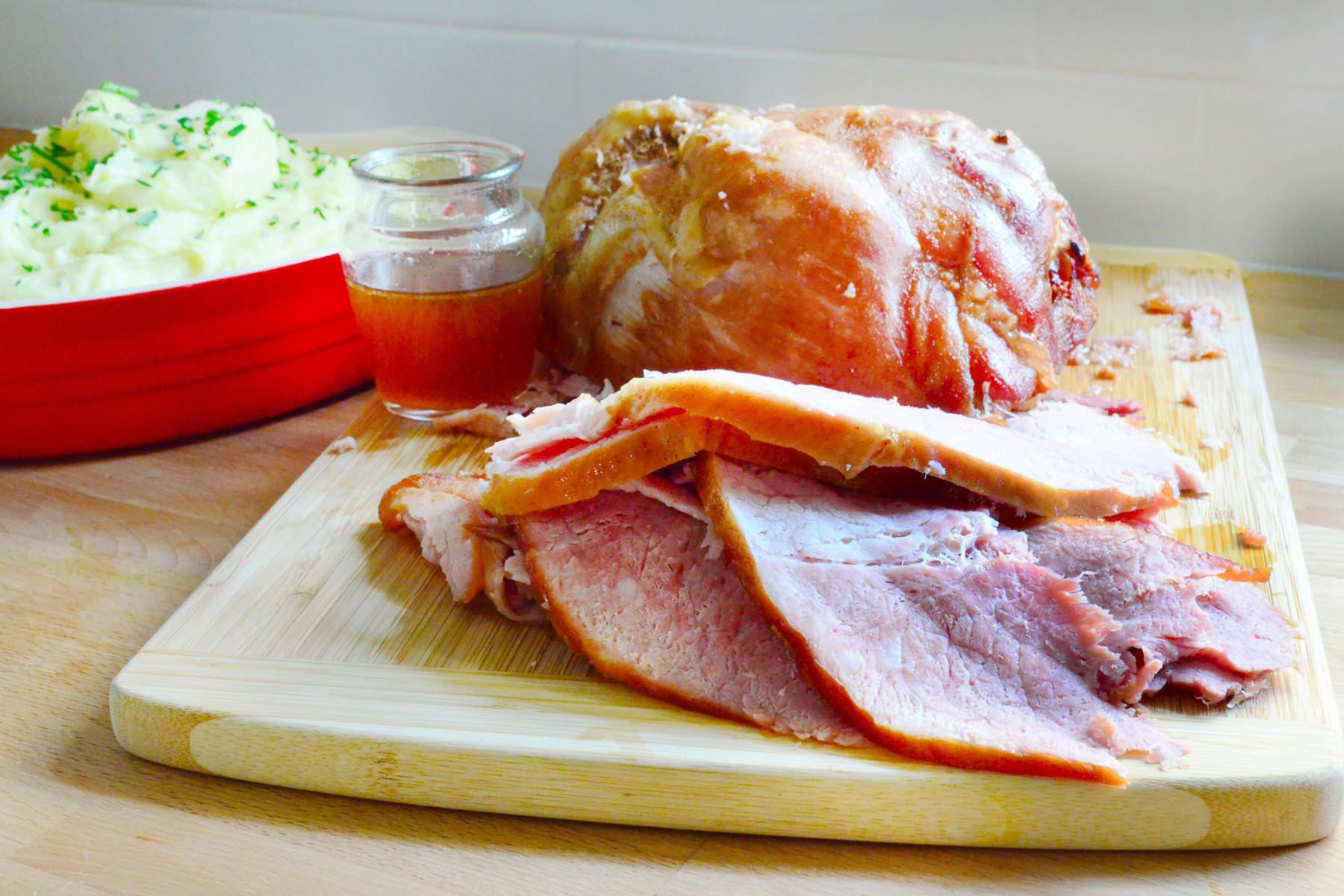 Easter Ham In A Crockpot  Crock Pot Ham for the Easiest Easter Ever