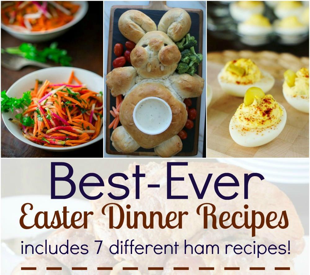 Easter Ham Menu  Best Ever Easter Dinner Recipes Tales of a Ranting Ginger