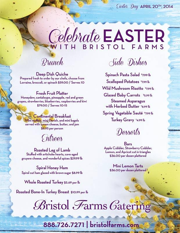 Easter Ham Menu  Easter Brunch The Brunch of All Brunches West