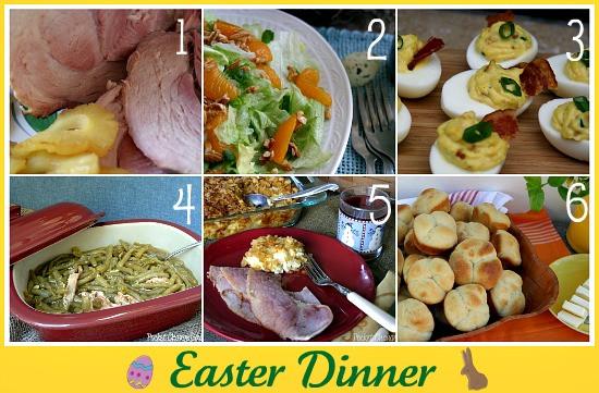Easter Ham Menu  Easter Recipe Round up Recipe