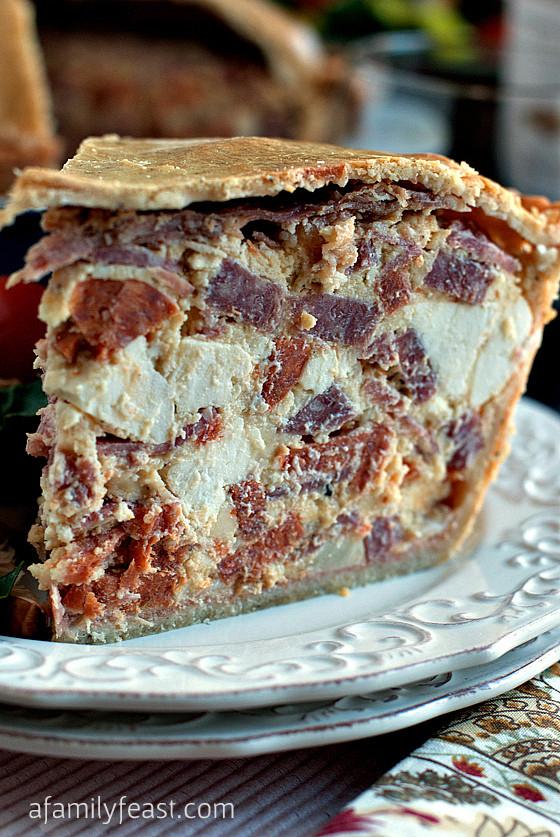 Easter Ham Pie  Spoonsfull Love Easter Pie…Pizza Giana