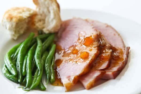 Easter Ham Recipe  Easter Ham Recipe with Mango Ginger Glaze 6 Ingre nts