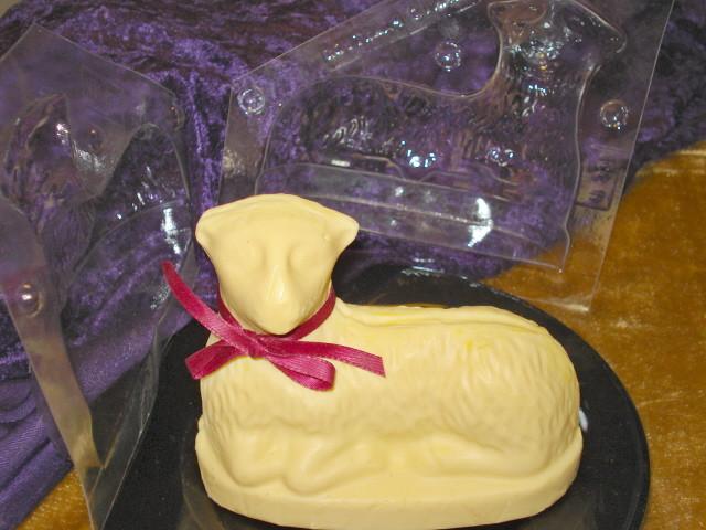 Easter Lamb Butter Mold  Butter Lambs
