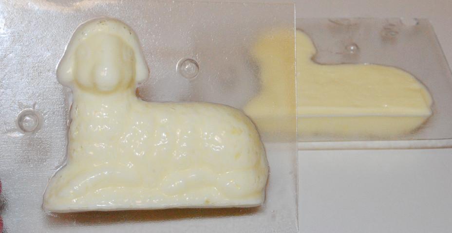 Easter Lamb Butter Mold  Butter Lamb