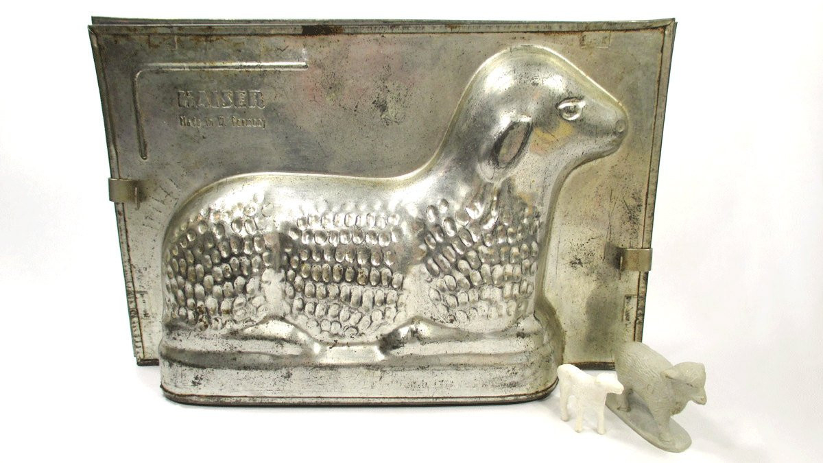 Easter Lamb Butter Mold  Kaiser LAMB Cake or Chocolate Mold EASTER Made in W