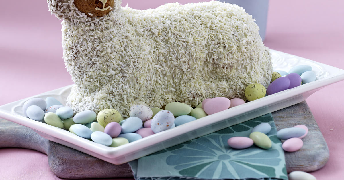 Easter Lamb Cake Recipe  Easter lamb cake