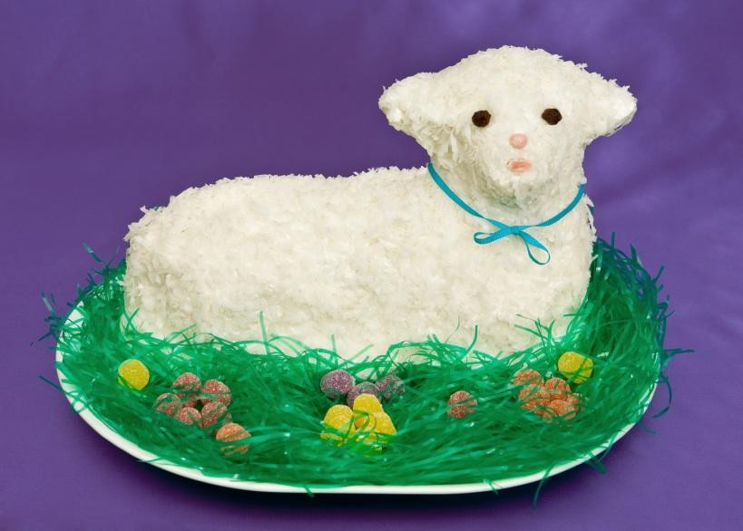 Easter Lamb Cake Recipe  Easter Lamb Cake Recipe — Dishmaps
