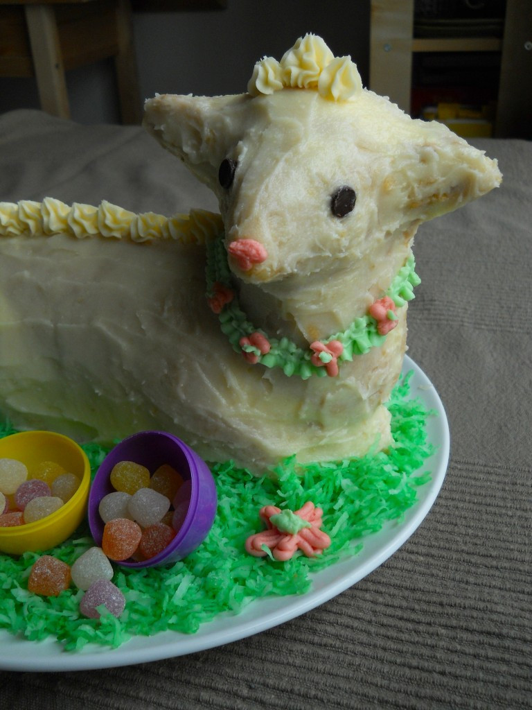 Easter Lamb Cake Recipe  vegan Easter lamb cake
