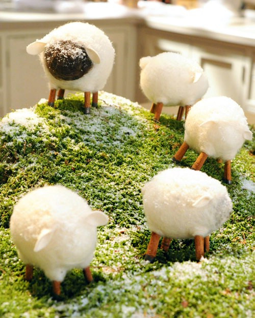 Easter Lamb Decorations  80 Fabulous Easter Decorations You Can Make Yourself DIY