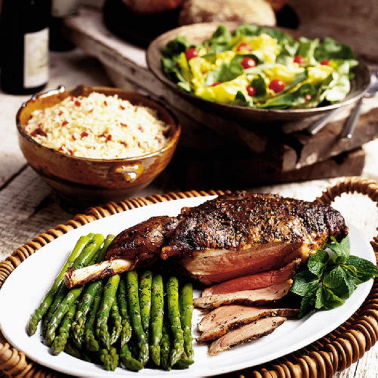 Easter Lamb Dinner  Top 10 Best Easter Dinner Recipes Top Inspired