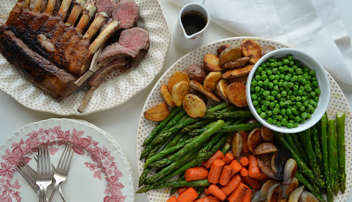 Easter Lamb Dinner Menu  Enjoy a Festival Easter Holiday With Rack of Lamb Dinner