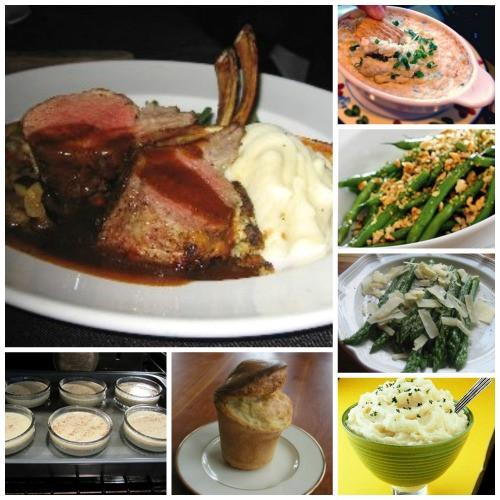 Easter Lamb Dinner Menu  Easter Dinner Rack Lamb Menu Whats Cooking America