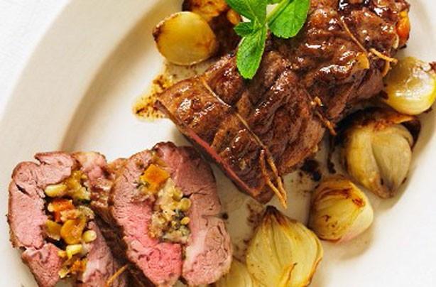 Easter Lamb Recipes  Easter lamb recipes Apricot stuffed roast lamb goodtoknow