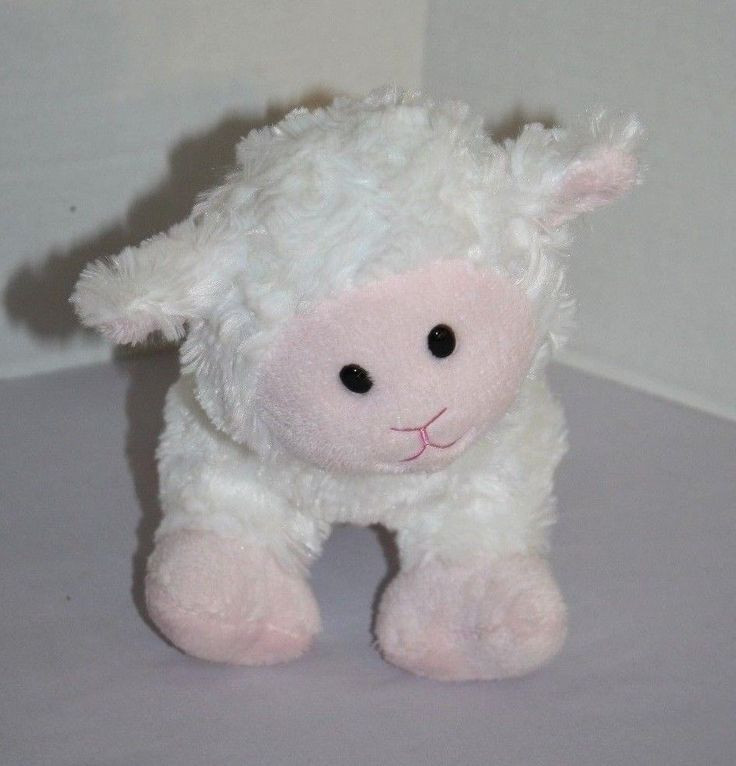 Easter Lamb Stuffed Animal  Best 416 Easter Plush Bunnies Lambs and Spring images on