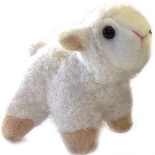Easter Lamb Stuffed Animal  Small Lamb Soft Toy Easter Gift