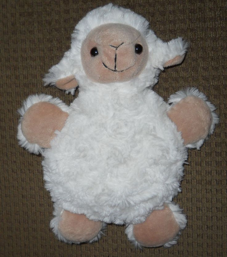 Easter Lamb Stuffed Animal  108 best images about Easter Plush Animals on Pinterest