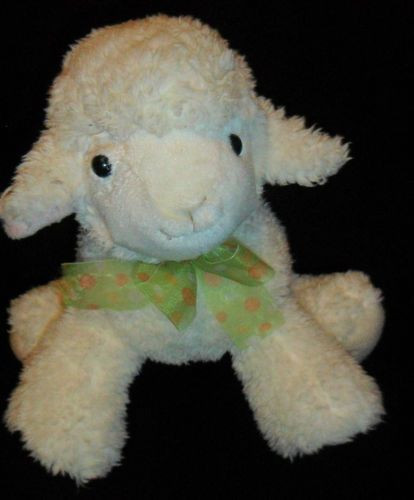 Easter Lamb Stuffed Animal  Plush Lamb CS International Toys Sheep Stuffed Animal