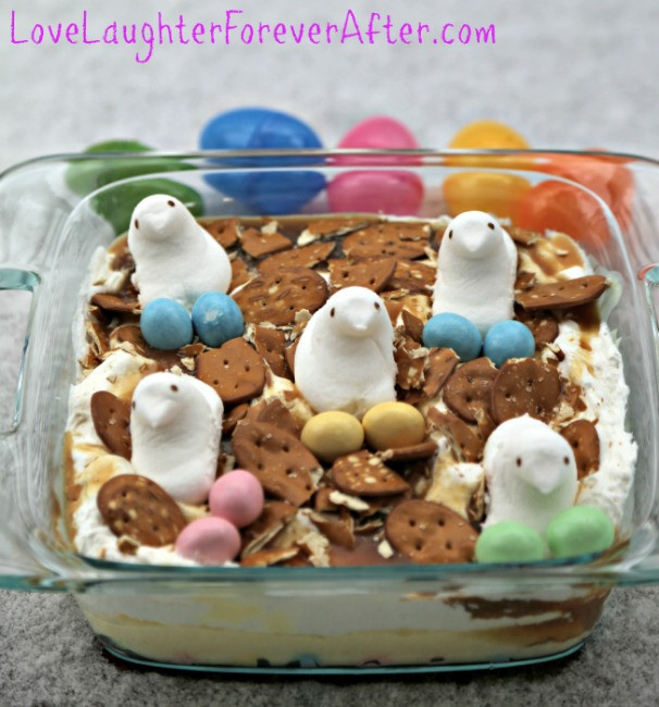 Easter Leftovers Recipes  Leftover Easter Candy Cake Recipe Love Laughter