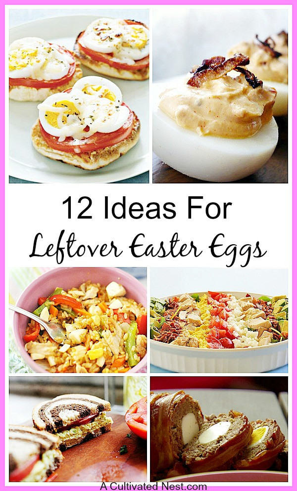 Easter Leftovers Recipes  12 Recipes For Leftover Easter Eggs