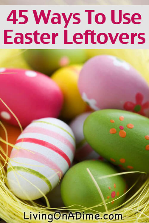 Easter Leftovers Recipes  Easter Leftovers Hard Boiled Eggs Bunnies Leftover Ham