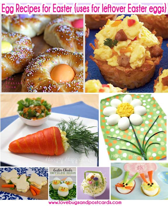 Easter Leftovers Recipes  Egg Recipes for Easter uses for leftover Easter eggs