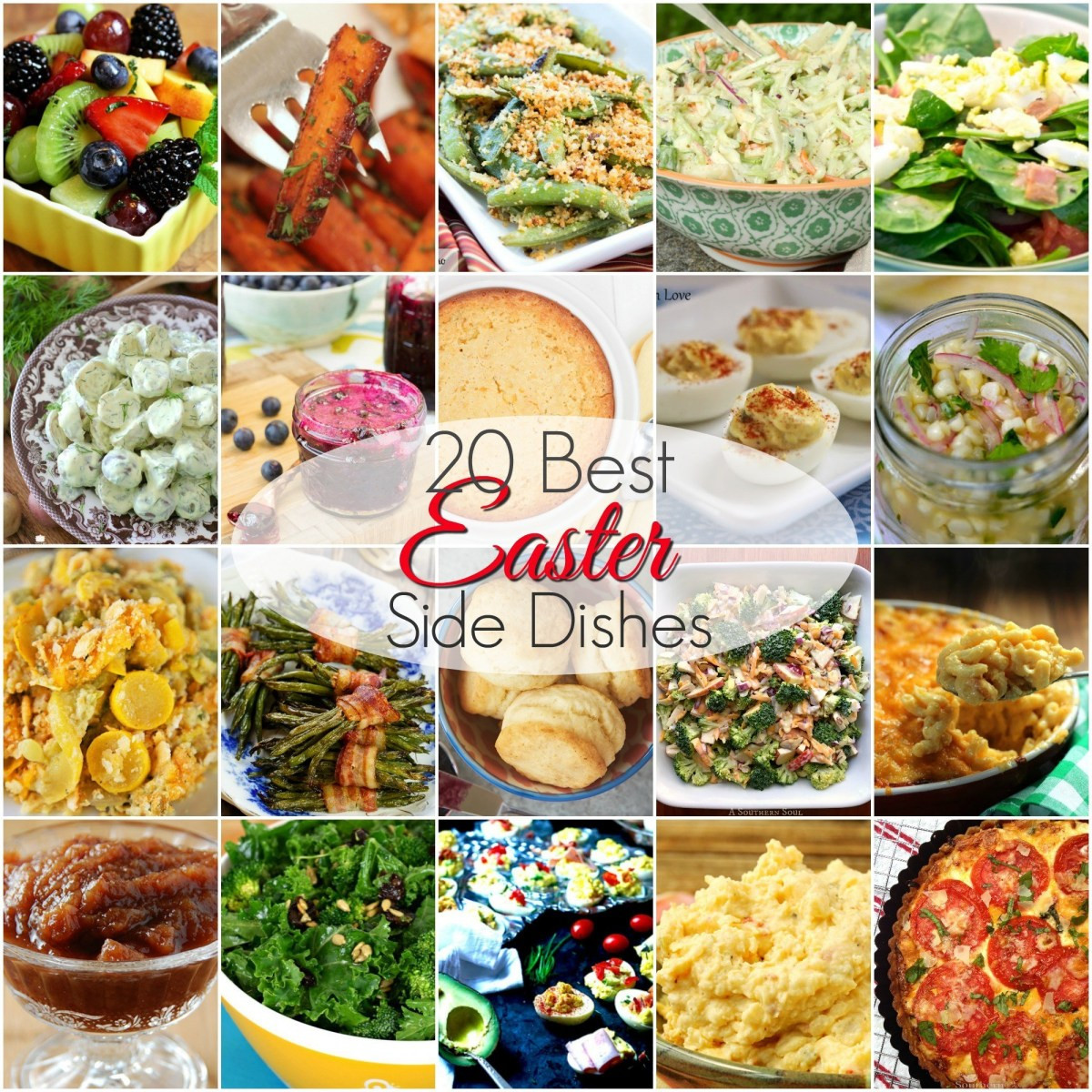 Easter Lunch Side Dishes  20 BEST Easter Side Dishes