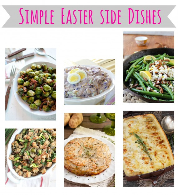 Easter Lunch Side Dishes  Simple Easter side dishes Savvy Sassy Moms