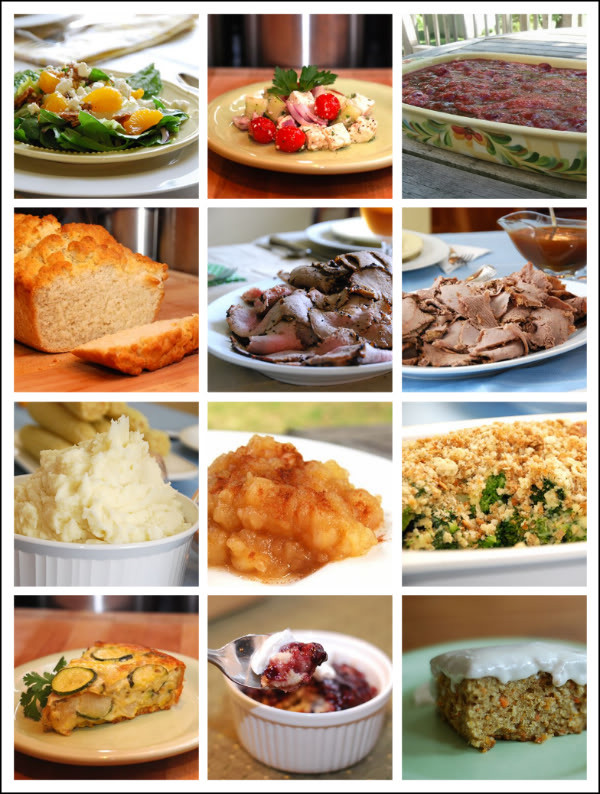 Easter Main Dishes  Easter Recipe Round Up Salads Side Dishes Main Dishes