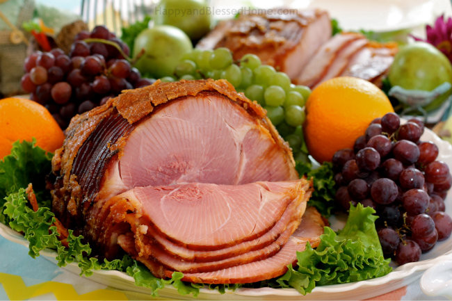 Easter Menu Ham  10 Easter Table Tips and a Simpler Easter Meal