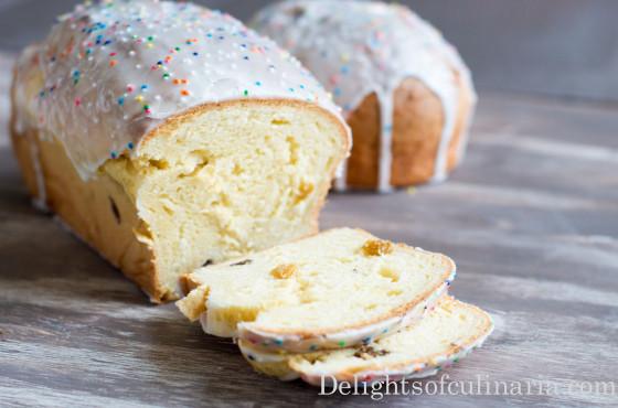 Easter Paska Bread Recipe  Easter Bread Paska Kulich Recipe Delights Culinaria