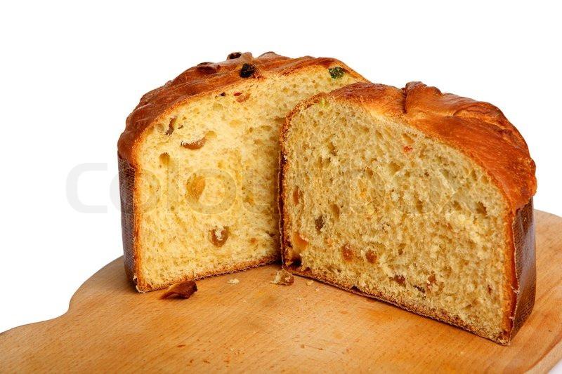 Easter Paska Bread Recipe  Easter Bread Paska Stock