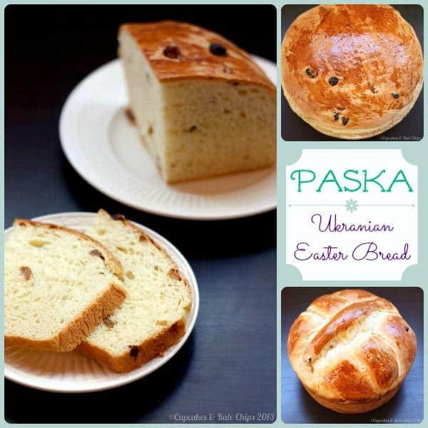 Easter Paska Bread Recipe  Paska Ukranian Easter Bread Cupcakes & Kale Chips