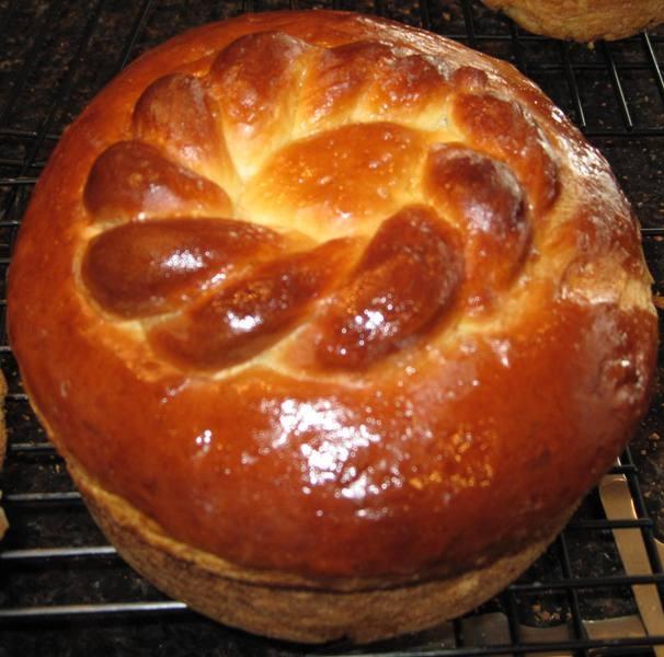 Easter Paska Bread Recipe  Ukrainian Easter Paska