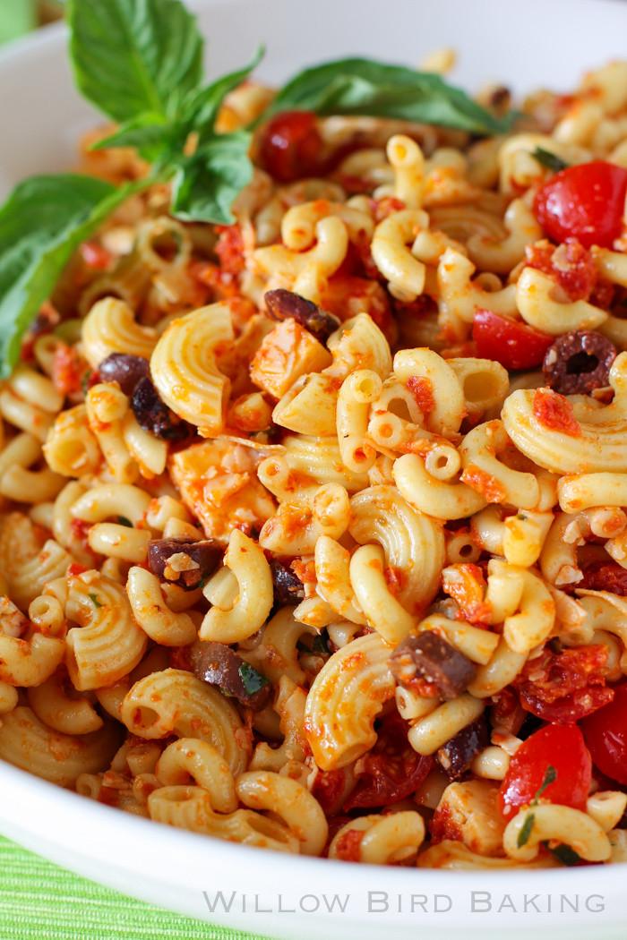 Easter Pasta Salad  Easter Sides The Best Macaroni Salad Ever & Sundried