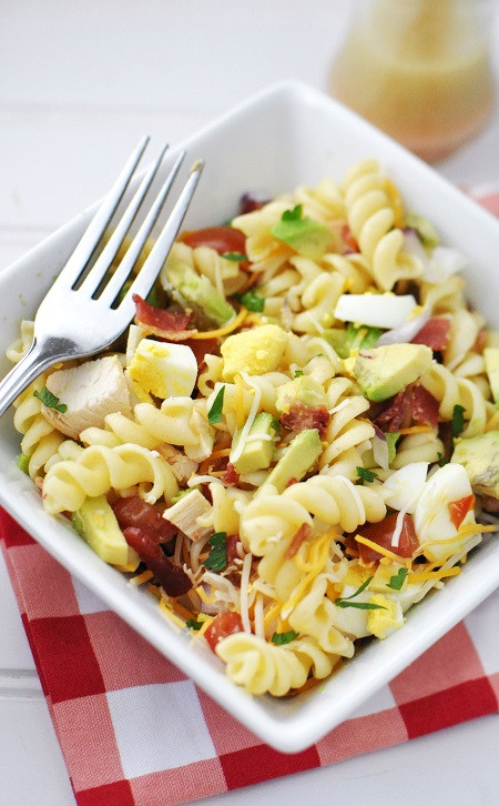 Easter Pasta Salad  20 Delish Hard Boiled Egg Ideas and Recipes