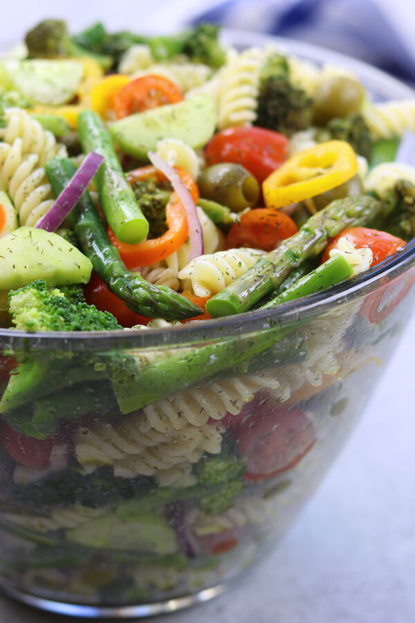 Easter Pasta Salad  32 Vegan Easter Recipes the Whole Family Will LOVE