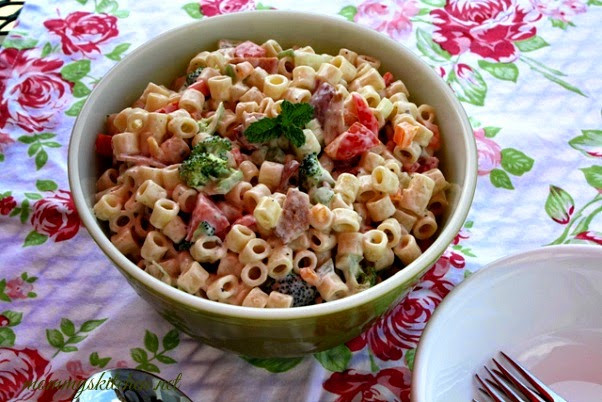 Easter Pasta Salad  Mommy s Kitchen Recipes From my Texas Kitchen Over 50