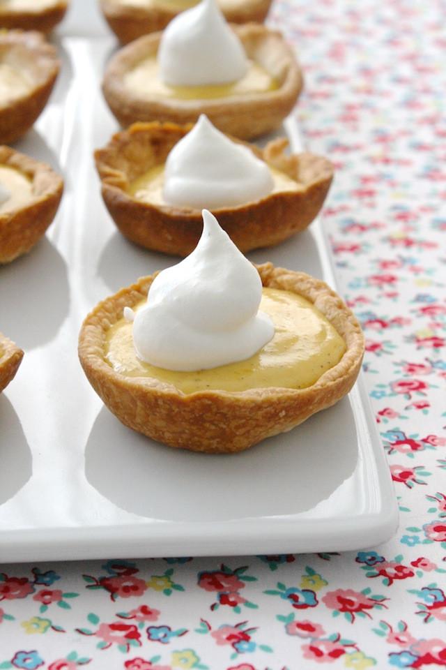 Easter Pie Dessert  Miniature Carrot Pudding Pies—Modern Easter Dessert Idea
