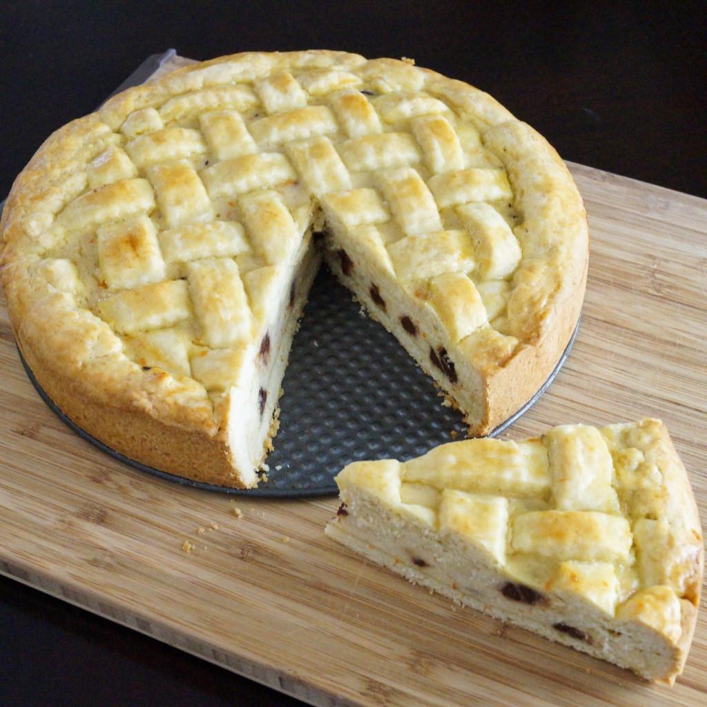 Easter Pie Dessert  Easter Ricotta Pie