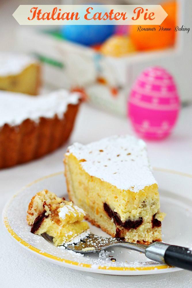 Easter Pie Dessert  Italian Easter Pie Recipe from Roxana s Home Baking on