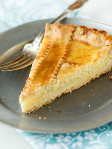 Easter Pie Dessert  italian sweet easter pie