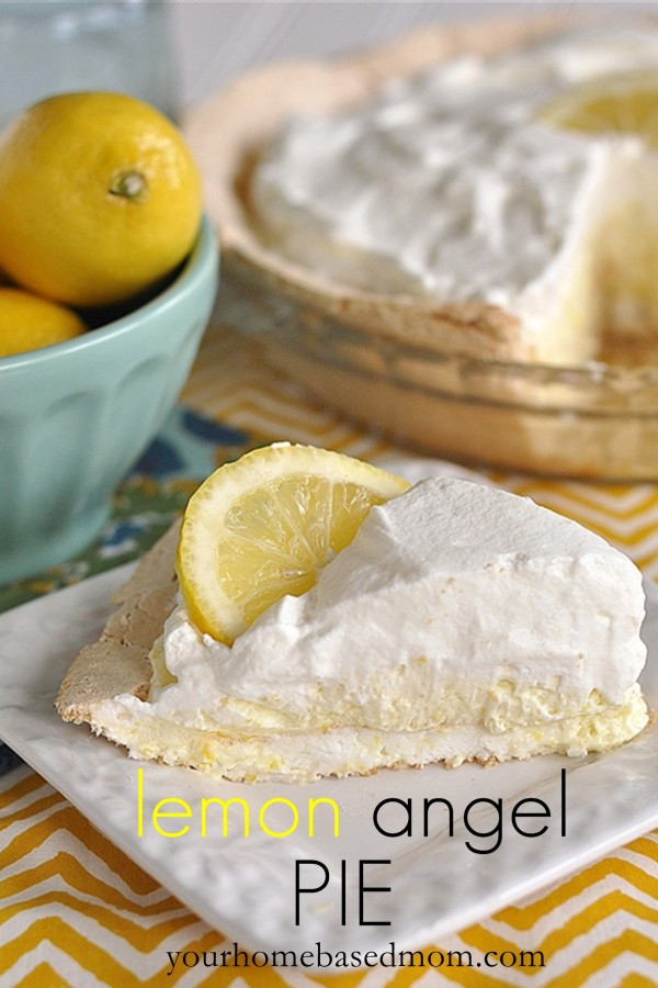 Easter Pie Dessert  Lemon Angel Pie