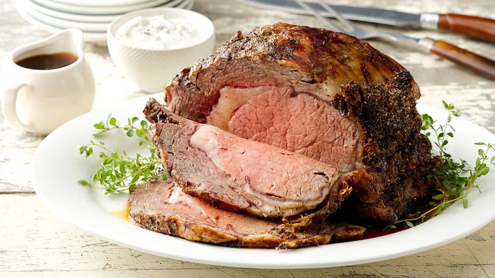 Easter Prime Rib Dinner  How to Cook Prime Rib from Pillsbury